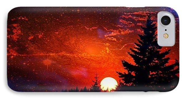 Sunset Fantasy IPhone Case