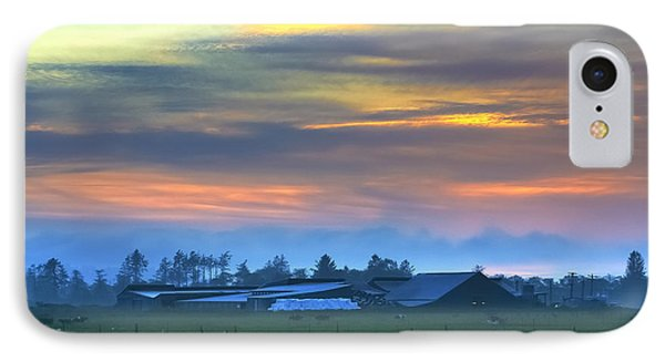 Sunset Farm IPhone Case