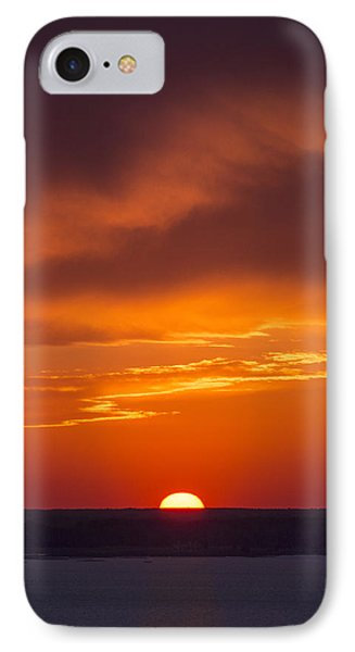 Sunset Fire IPhone Case