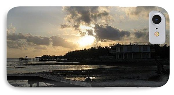 IPhone Case featuring the photograph Sunset  - Florida Keys by Jean Marie Maggi