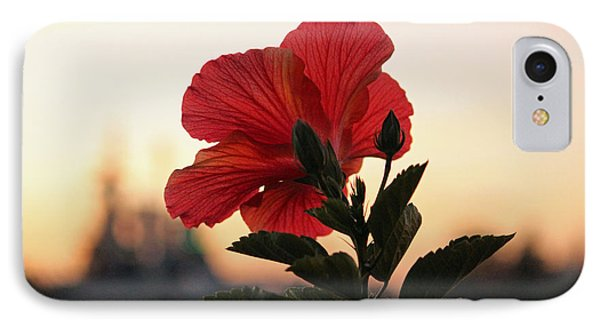 IPhone Case featuring the photograph Sunset Flower by Cynthia Guinn
