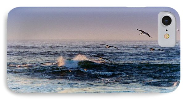 IPhone Case featuring the photograph Sunset Fly by Kathy Bassett