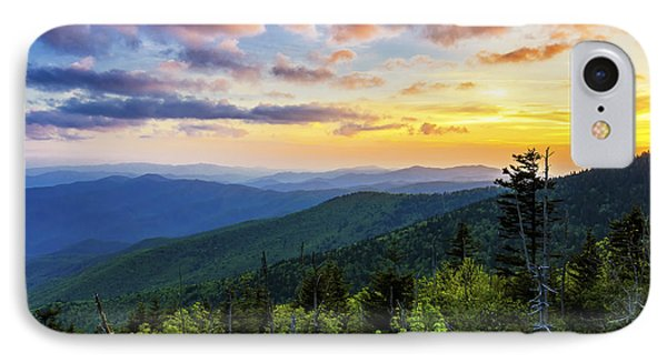 Sunset From Clingmans Dome IPhone Case