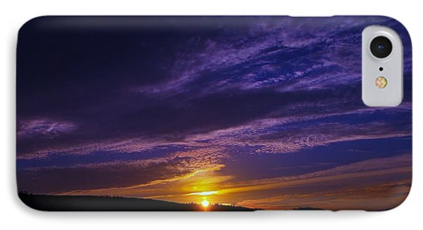 Sunset From Lyle Wa Phone Case by Jeff Swan