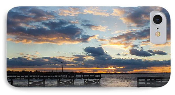 Sunset From The Fishing Piers IPhone Case
