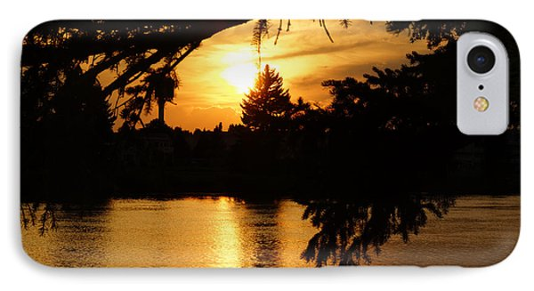 Sunset  IPhone Case by Gloria Pasko