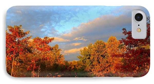 IPhone Case featuring the photograph Sunset Glow by Kathryn Meyer