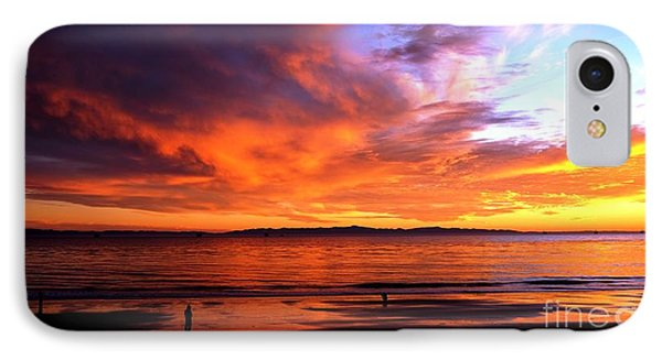 IPhone Case featuring the photograph Sunset Glow by Sue Halstenberg