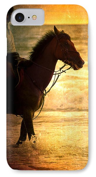 Sunset Horse Phone Case by Loriental Photography