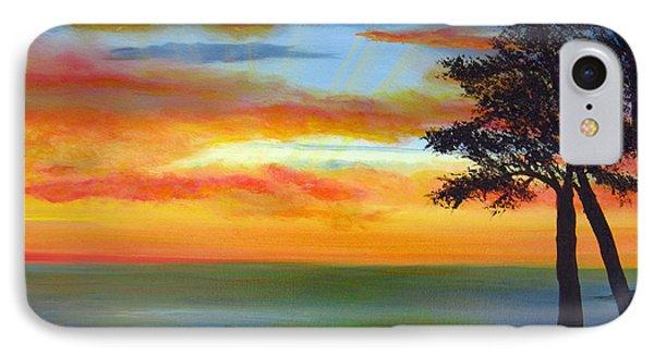 Sunset IIi Phone Case by Dottie Kinn