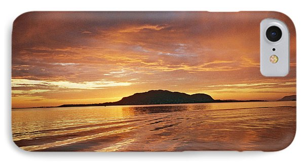 Sunset In Alesund Phone Case by Christine Rivers