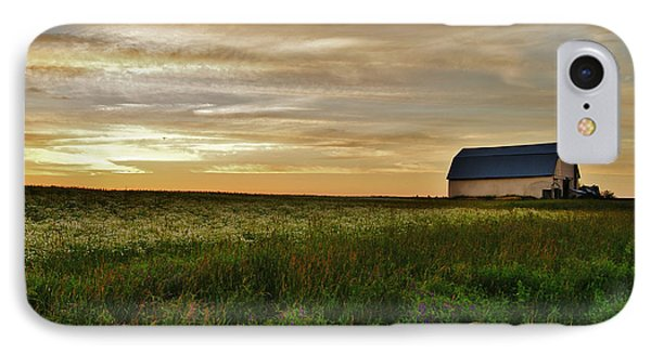 Sunset In Aroostook County IPhone Case by Christopher Mace