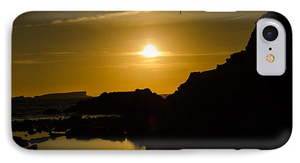 Sunset In Baleal Beach IPhone Case