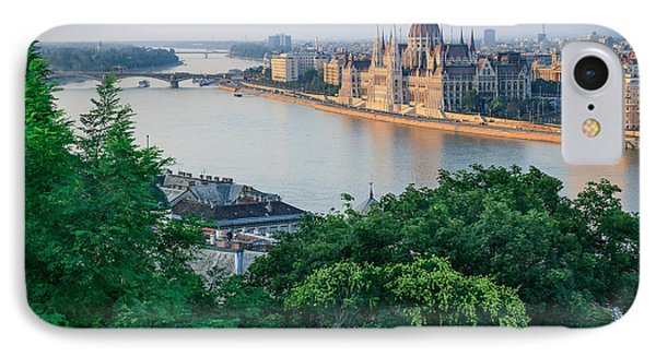 Sunset In Budapest IPhone Case