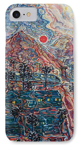 Sunset In California IPhone Case by Anna Yurasovsky