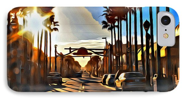 Sunset In Daytona Beach IPhone Case by Alice Gipson