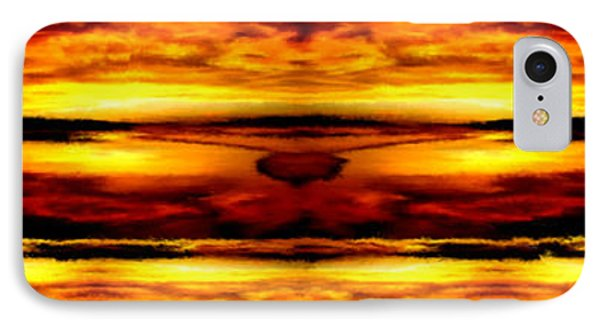Sunset In Heaven IPhone Case by Bruce Nutting