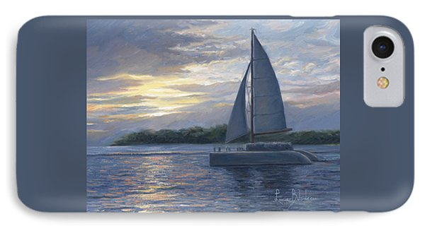 Sunset In Key West Phone Case by Lucie Bilodeau