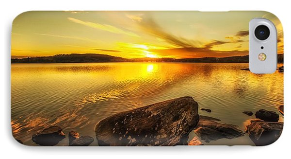 IPhone Case featuring the photograph Sunset In Our Little Village  by Rose-Maries Pictures