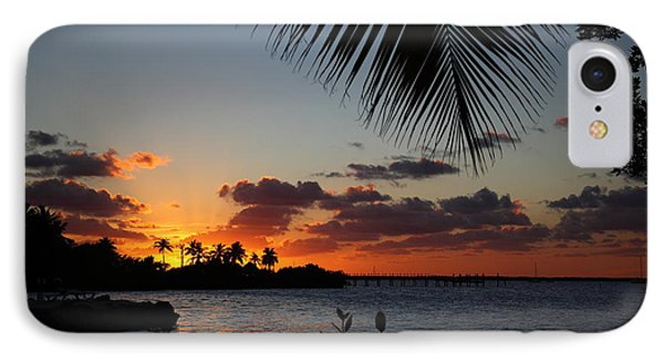 Sunset In Paradise IPhone Case by Michelle Wiarda