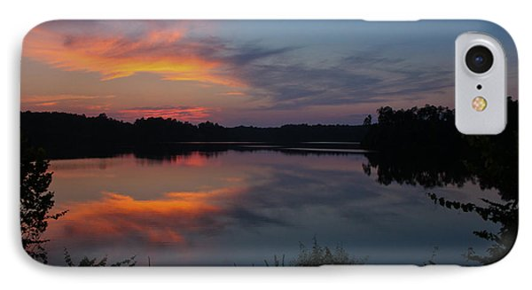 Sunset In Pastels IPhone Case by Geri Glavis