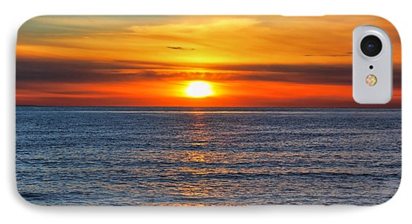 Sunset In San Clemente Phone Case by Mariola Bitner