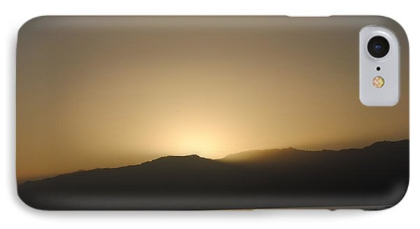 Sunset In Santa Monica IPhone Case by Robert  Moss