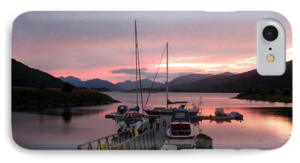 Sunset In Scotland Phone Case by Joyce Woodhouse