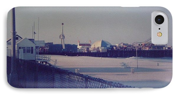 Sunset In Seaside Heights Nj Phone Case by Joann Renner