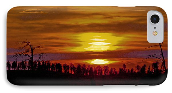 IPhone Case featuring the photograph Sunset In The Black Hills 2 by Cathy Anderson