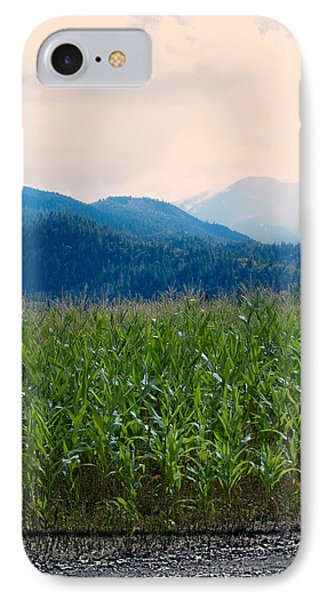 Sunset In The Cornfields Phone Case by Melanie Lankford Photography