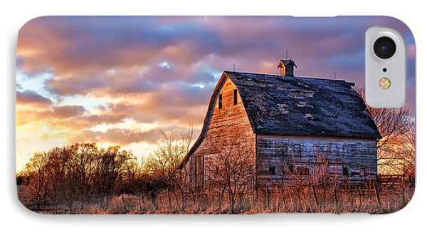 Sunset In The Country IPhone Case by Nikolyn McDonald