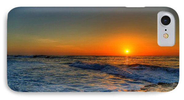 Sunset In The Cove IPhone Case by Dave Files