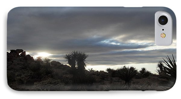 Sunset In The Desert Phone Case by James Welch