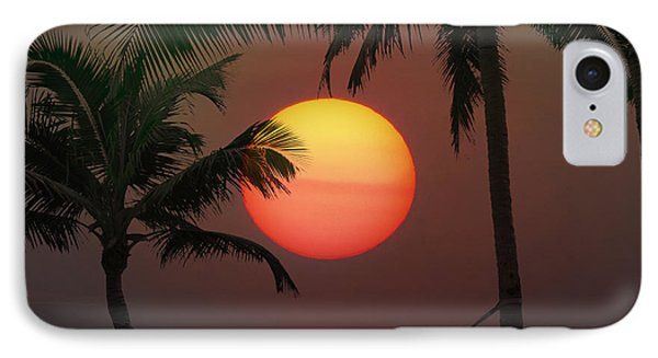 Sunset In The Keys Phone Case by Bill Cannon