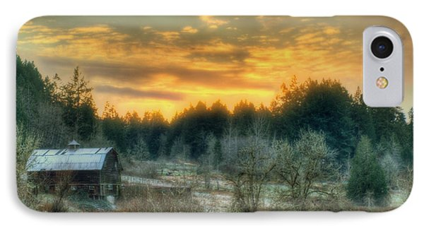 IPhone Case featuring the photograph Sunset In The Valley by Jeff Cook