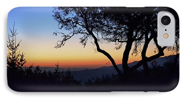 Sunset In Woodside  IPhone Case by Alex King