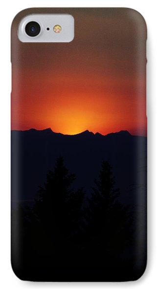 Sunset IPhone Case by Janie Johnson