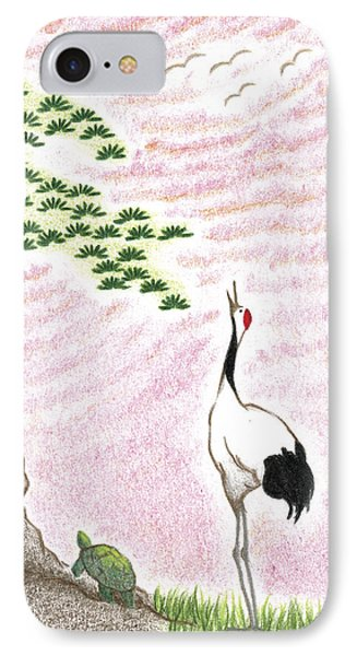 Sunset Phone Case by Keiko Katsuta