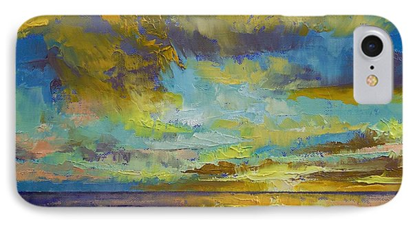 Sunset Key Largo IPhone Case by Michael Creese