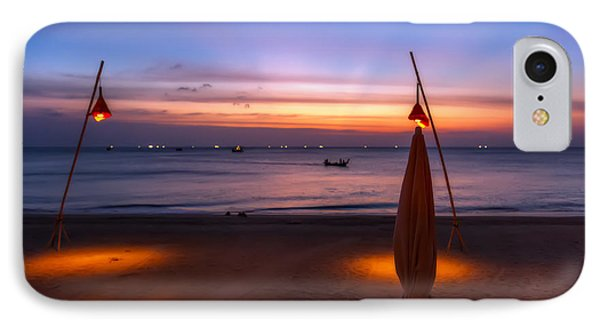 Sunset Lanta Island  IPhone Case by Adrian Evans
