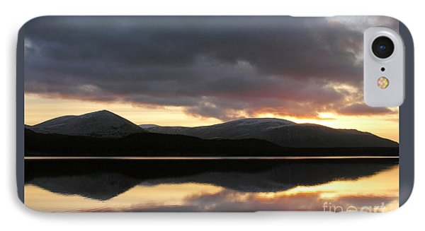 Sunset - Loch Morlich - Scotland IPhone Case
