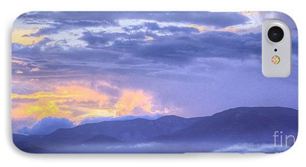 Sunset Low Clouds IPhone Case