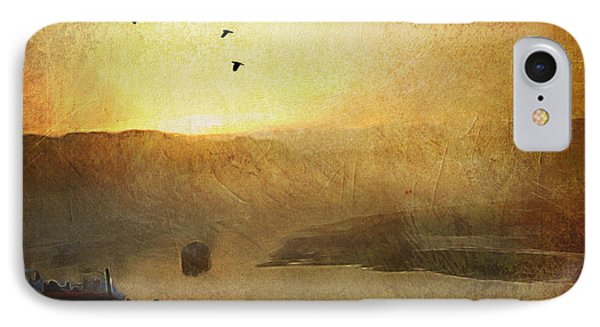 Sunset Low Tide Cape Neddick River IPhone Case by Ann Tracy