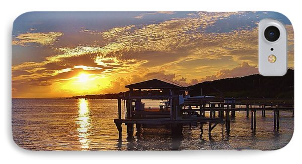 Sunset At Morehead City Nc IPhone Case by Marilyn Carlyle Greiner