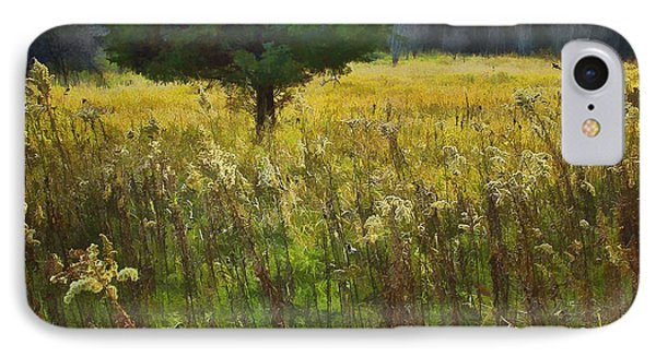 IPhone Case featuring the photograph Sunset Meadow by John Hansen
