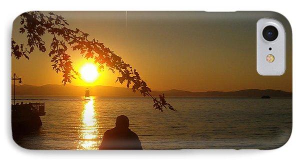 Sunset Meditation IPhone Case