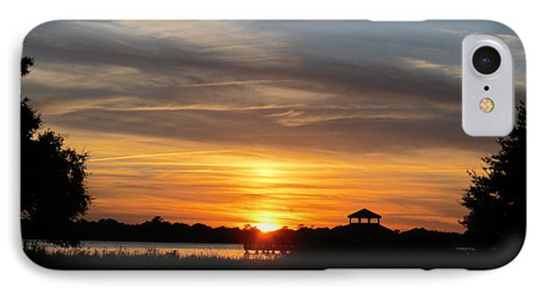 IPhone Case featuring the photograph Sunset Mellow Love  by Joetta Beauford
