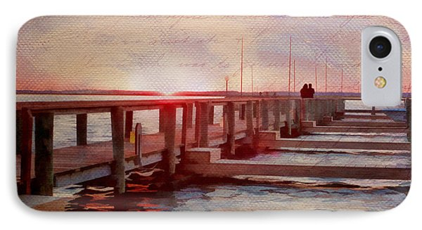 Sunset Memories From Chincoteague Phone Case by Julia Springer
