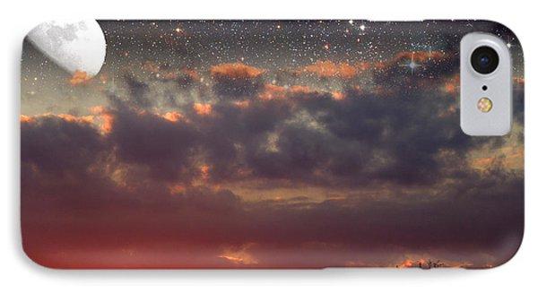 Sunset Moonrise IPhone Case